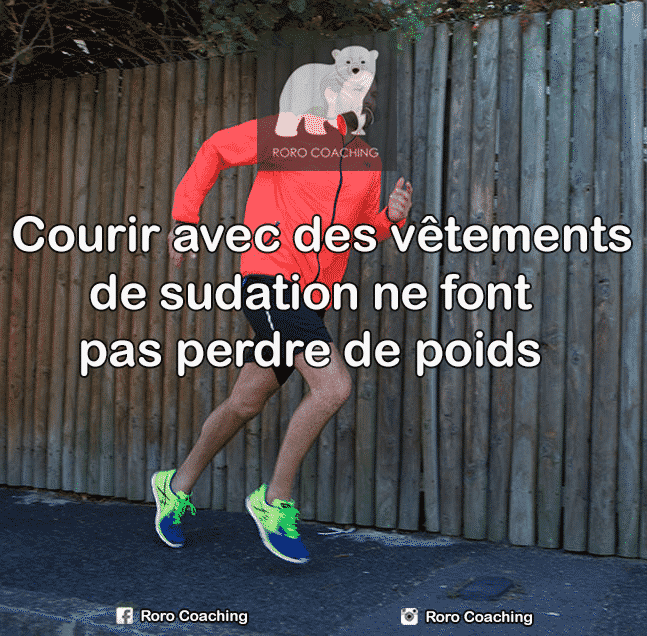 kway sudation perte poids